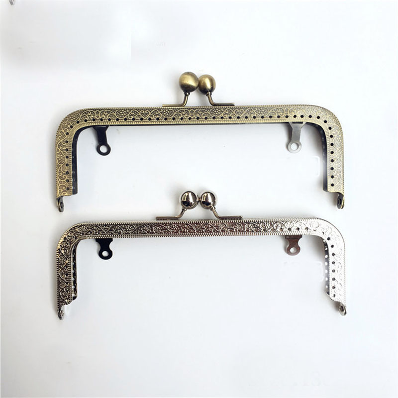 20cm Metal Clutch Purse Frames