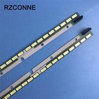 605mm LED Backlight Lamp strip 72leds for Skyworth tv 55E790U Light Bar 6916L1745A 6916L1746A Aluminum 6922L 0087A 2pcs