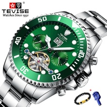 Free Bracelet TEVISE Mens Watches Top Br