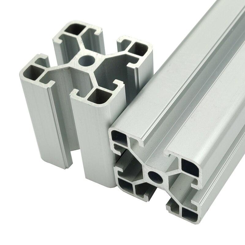 1pcs 4040 Aluminum Profile Extrusion 100-800mm Length European Standard Anodized Linear Rail For DIY CNC 3D Printer Workbench