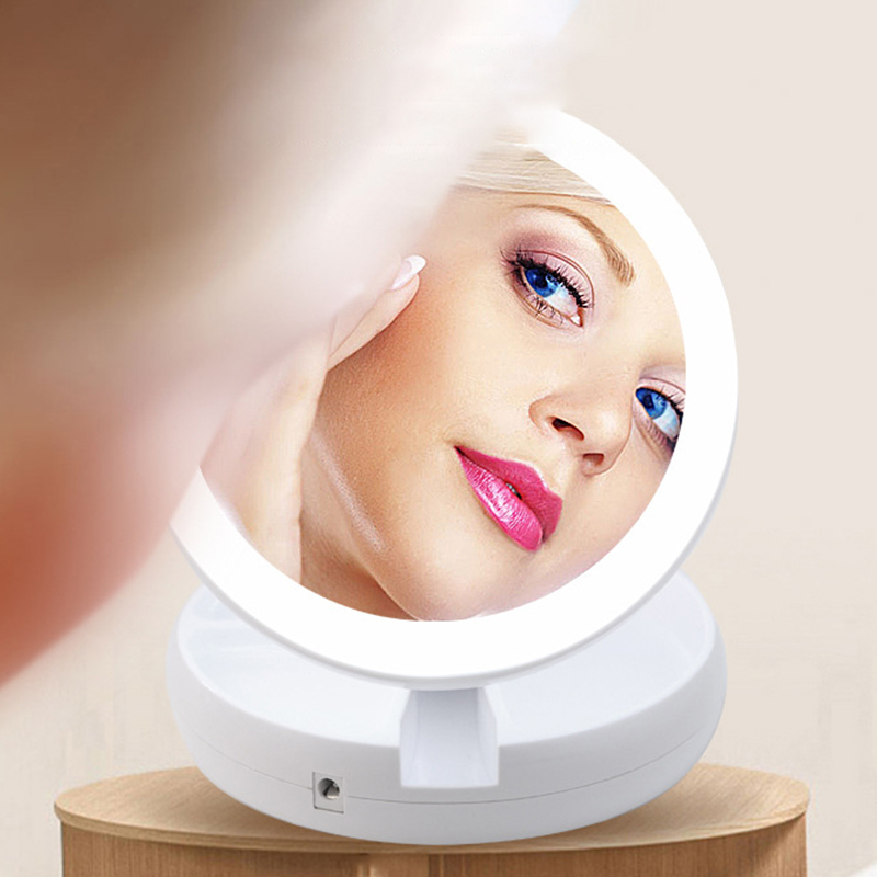 LED Lighted Makeup Mirror Vanity Compact Make Up Pocket Mirrors 10X Magnifying Glasses Makeup Portable Cosmetic Hand Mirror #LED Lighted Makeup Mirror Vanity Compact Make Up Pocket Mirrors 10X Magnifying Glasses Makeup Portable Cosmetic Hand Mirror #