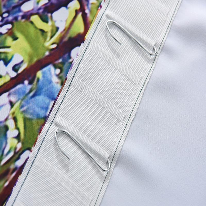 3D плотные Шторы мультфильм голубая планета пространство Млечный Путь узор Ткань детей Спальня Шторы для Гостиная домашний текстиль