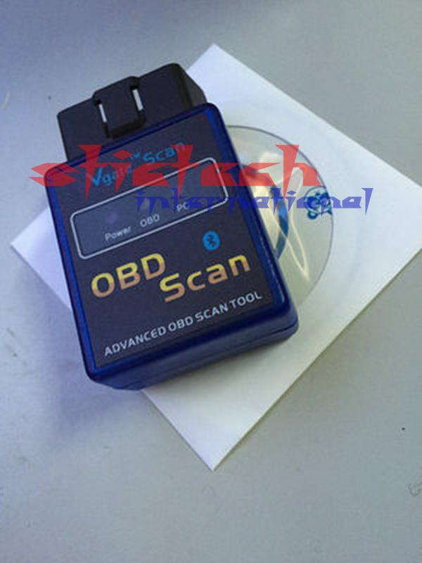 Цена за Dhl или ems 200 шт. оптовая МИНИ Vgate ELM 327 V1.5 Версия Bluetooth Vgate Сканирования OBD2/OBDII ELM327 1.5 Код Сканер