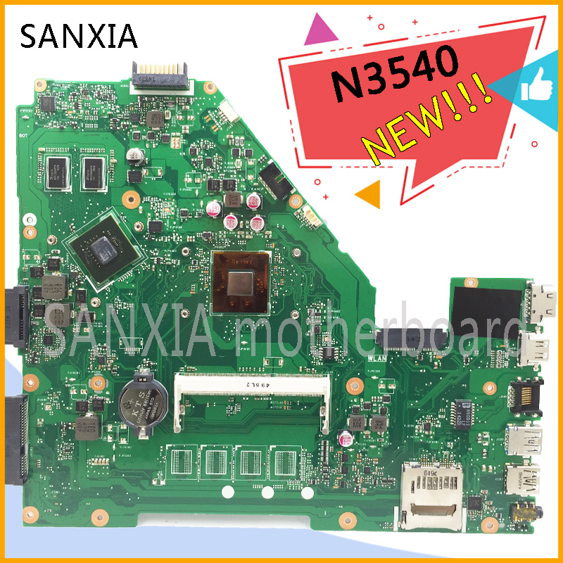 KEFU original X550MD laptop motherboard for ASUS X550MD motherboard tested notebook in stock N3540 processor new mainboard