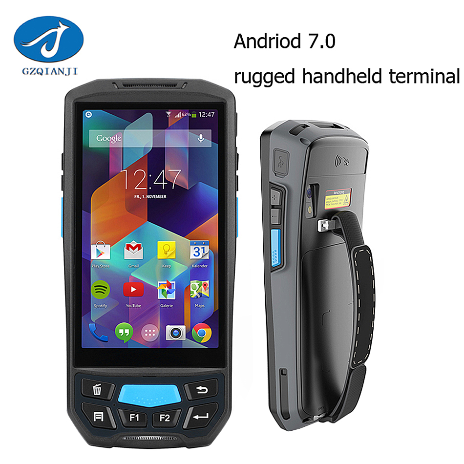 GZPDA02 1D 2D Scanner industrial Handheld data collection mobile computer terminal inbuilt 1d barcode scanner android pda