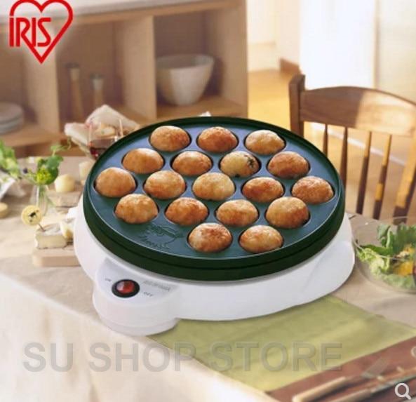 где купить Chibi Maruko machine octopus baking machine household takoyaki machine octopus balls maker Professional cooking tools EU US дешево