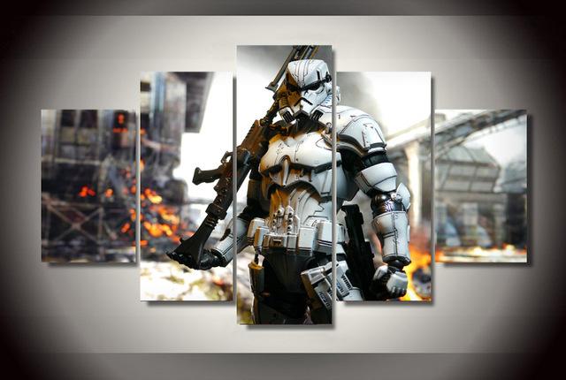 5 Pieces/set Star Wars Stormtroopers