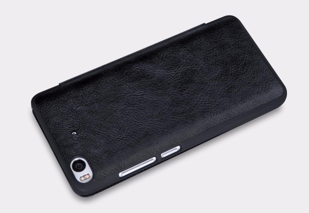 xiaomi mi5 mi5s mi6x üçün Case Nillkin QIN seriyası Flip Qapaq - Cib telefonu aksesuarları və hissələri - Fotoqrafiya 5