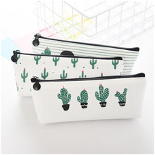 Cactus Briefpapier Etui school etui kawaii etui Canvas leuke etui Pen Zakken(China)