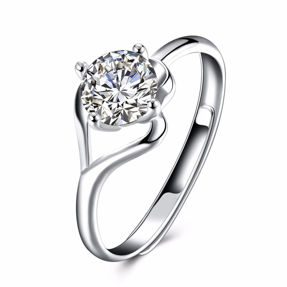 High-end series of standard 925 sterling silver jewelry for sweet romantic girl shopping ...