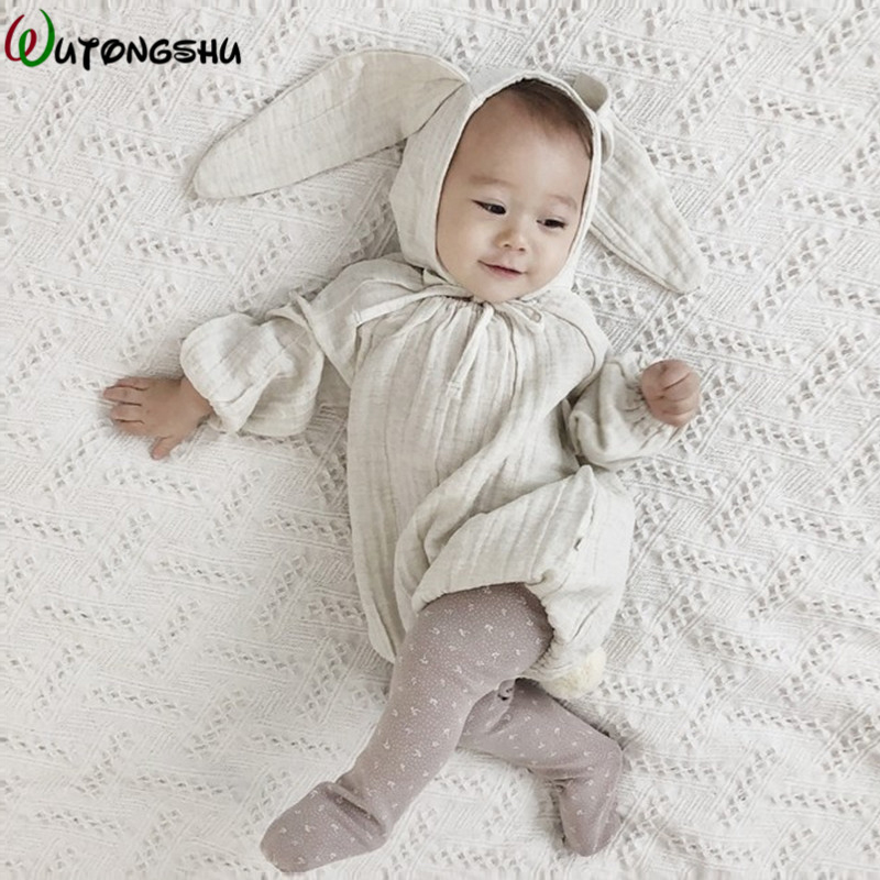 Baby   Rompers   Newborn Girls Clothes Long Sleeves Rabbit Newborn Jumpsuits Baby Boy Girl   Romper   Clothes Japan Style Infant Product