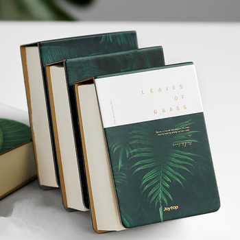Grass Leaves Pocket Small Diary Notebook Hand Memo Pad Study Journal Removable Papers