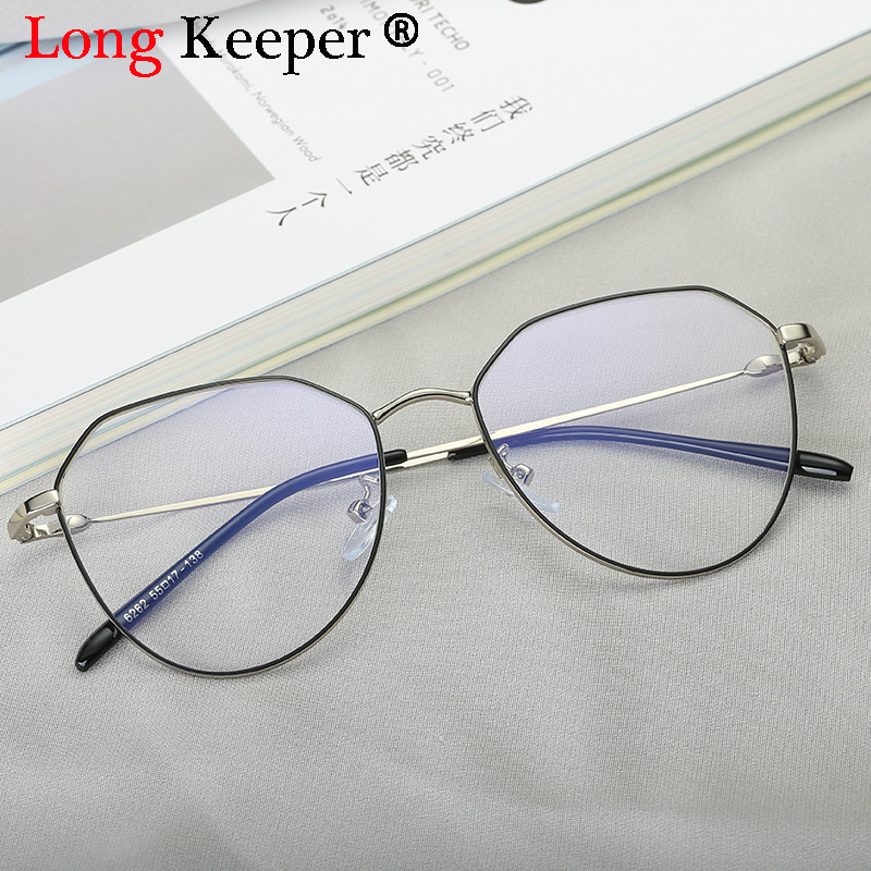 4a27c4e3056 Vintage Retro Women Men Eyeglass Metal Frame Oval Frame Glasses Clear Lens Round  Spectacles Unisex Optical Gafas de gra for Girl-in Eyewear Frames from ...