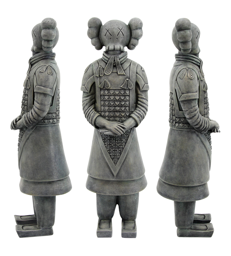 cos kaws Terracotta Army people in Xi'an Astro Boy astro boy volume 7
