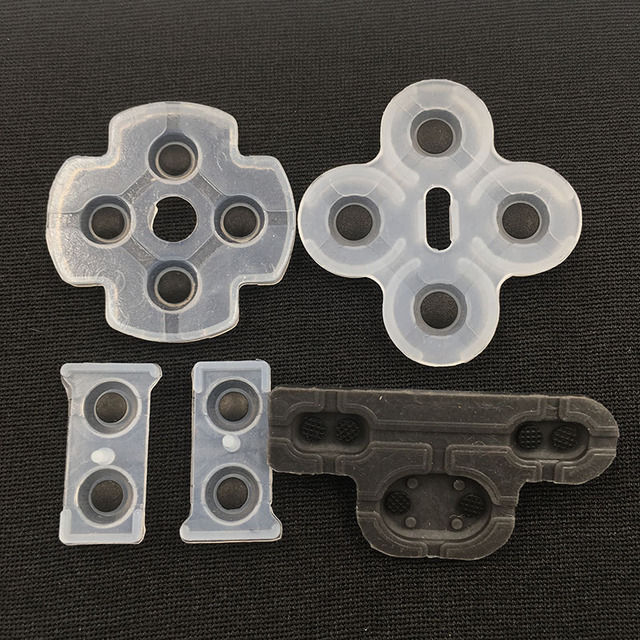 For PS3 Silicon Button Replacement Part Rubber for Playstation DualShock 3 L2 R2 Rubber