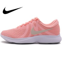 Original NIKE REVOLUTION Women's Running Shoes Sneakers Comfortable Breathable Stability Jogging Athletics Official Lace Up