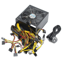 ATX Miner Power Supply for GPU Card PC 24 Pin Bitmain Antminer Mining Miner Power Supply Machine 1300W 1600W 1800W High Quality