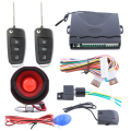 In Stock! Quality car burglar alarm system one way with LED light dual stage shock sensor central locking anti hijacking