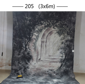 201610ft*20ft Hand Painted Muslin scenic Backdrops for photography,toile de fond studio photo 205,wedding photography background