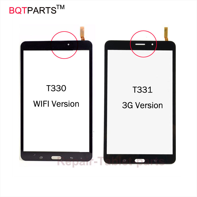 BQT 8 Inch Lcd Screen Display for Samsung Galaxy Tab 4 T330 T331 Touch Screen Glass Panel Digitizer 100% Tested