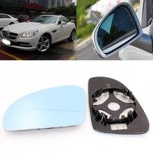 Для Benz SLK SLK200350 большое поле голубое зеркало с антибликовым покрытием зеркало заднего вида автомобиля широкоугольный светоотражающий объектив заднего вида
