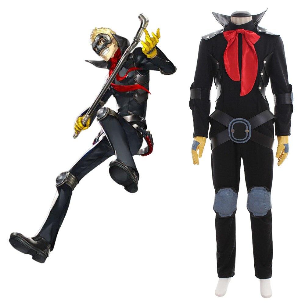 Cosplaydiy Anime Persona 5 Ryuji Sakamoto Cosplay Costume P5 Adult Mens Halloween Costume L320