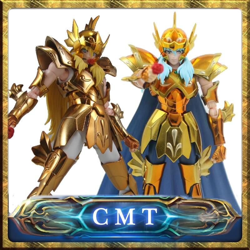 Instock  S-Temple Metal Club EX Pisces Aphrodite Saint Seiya Myth Cloth Gold Action Figure