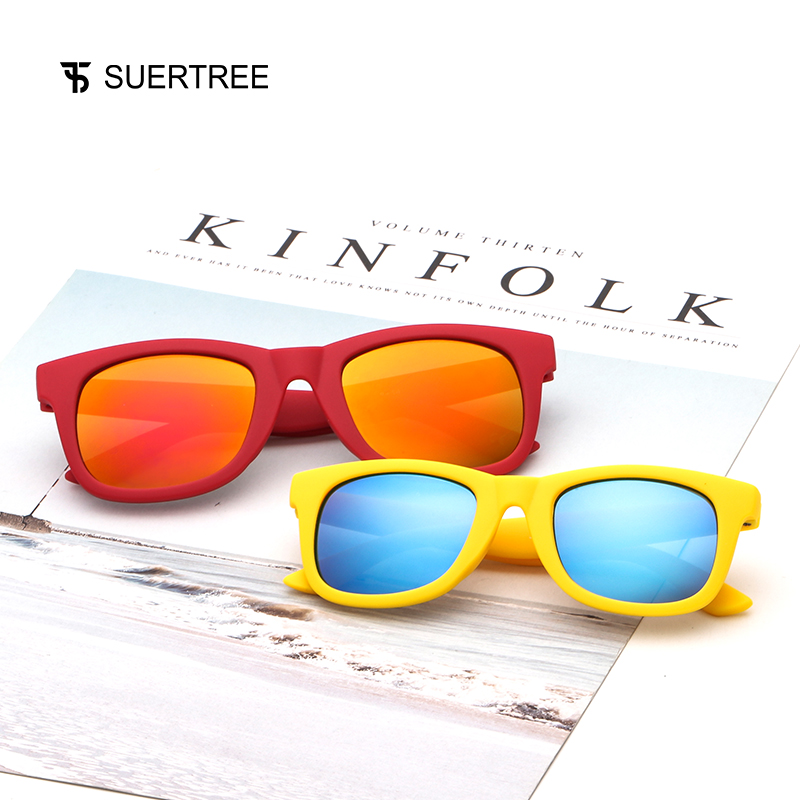 SUPERTREE 2018 New Arrival Vintage Sunglasses Kids Square Fashion Brand Designer Color Tiny Shades Oculos Gafas de sol JH9018