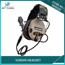 Z Tactical Airsoft Military Noise Cancelling Peltor Sordin Headphone Z-TAC Hunting Softair Aviation Headset TAN