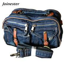 2acc653045bb Casual Denim Handbags for Women 2018 Ladies Clutch Bag Jeans Buckle Belt Messenger  Bags Crossbody Womens  Pouch Shoulder Bag