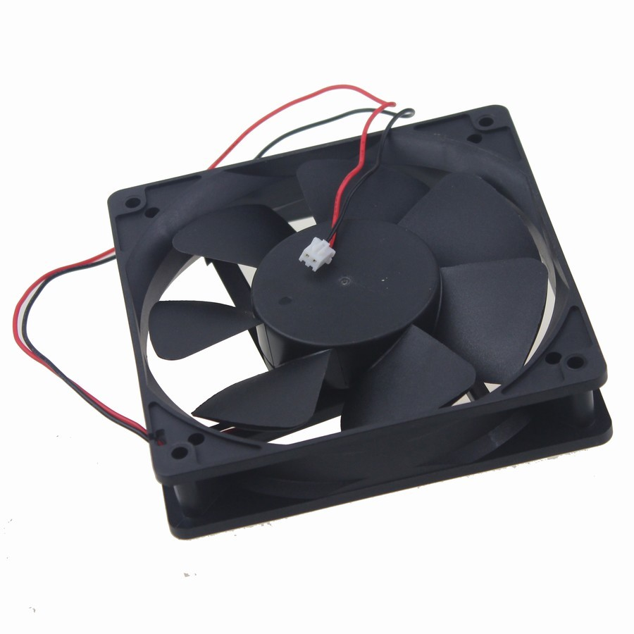 10 Pieces Gdstime 12025 48V 0 1A 2 WIRE 120MM 12CM DC Cooling Fan in Fans Cooling from Computer Office
