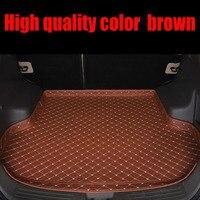 Custom fit esteiras Mala do carro para Fiat 500 bravo Viaggio S Ottimo 5D heavy duty tapete do assoalho liner