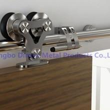 Dimon SUS 304, высокое качество, две головки, деревянные раздвижные двери, фурнитура, DM-SDS 7102, без раздвижных рельсов