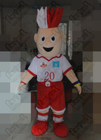 sport mascot cartoon game mascot costumes character sports competition masot costume Athlete costume