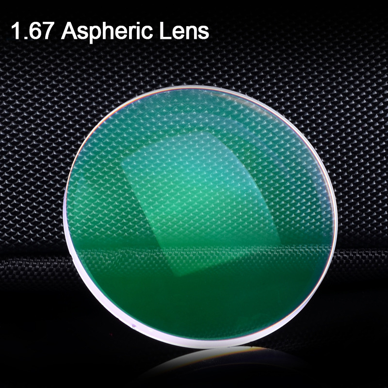 Free prescription filling service 1.67 Asperic Lens anti scratch radiation coating myopia resin optical lens professional 005