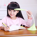 Leaf LED table lamp USB rechargeable touch dimming desk lamp brightness adjustable reading lamp eye protection light