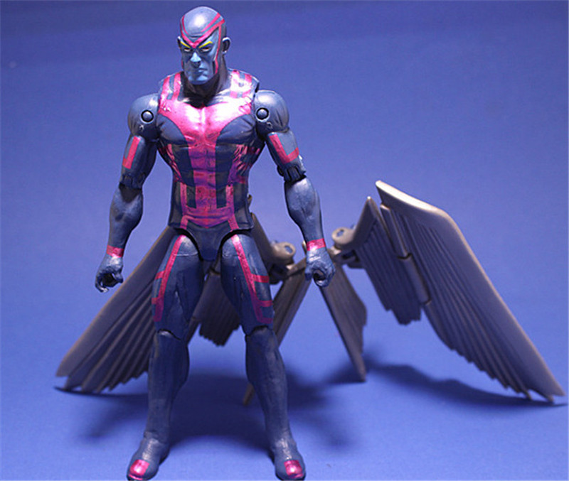 Action toys X man Apocalypse MOVIE Action Figure Magneto X-Men En Sabah Nur Collectible  Movable Birthday Gift 16cm extraordinary x men vol 2 apocalypse wars