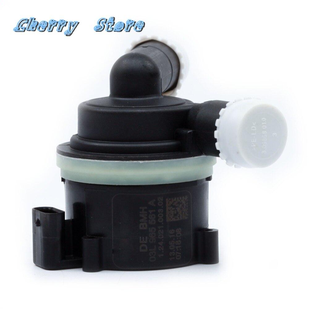 Nouveau 03L 965 561 A liquide de refroidissement secondaire électrique pompe à eau auxiliaire supplémentaire pour A4 B8 VW Amarok 2010-2018 2.0TDI 03L965561A