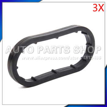 car accessories 3x oil cooler Gasket for MERCEDES-BENZ W202 W203 CL203 S202 S203 C208 OEM# 1121840261 image