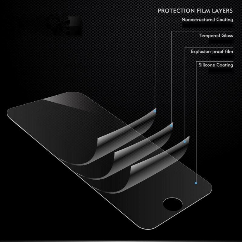 Image 5 - 2pcs Tempered Glass For Samsung Galaxy S7 Full Cover 0.26mm 2.5D Screen Protective Tempered Glass For Samsung Galaxy S7 Glass-in Phone Screen Protectors from Cellphones & Telecommunications on
