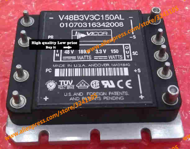Free shipping NEW V48B3V3C150AL MODULE free shipping new module