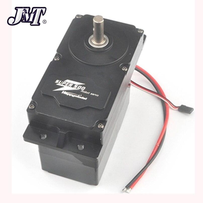 JMT 500 500KG.CM High Torque Metal Servo SUPER 12V-24V DC Input Holding PWM Servo with BEC 5V Parts