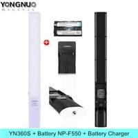 YONGNUO YN360S Handheld Ice Stick LED Video Light 3200K 5500K Studio Photography Lamp Phone App Control For Photo 360 S Lighting
