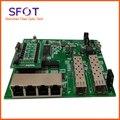 Плата обратного переключателя POE  2 порта SFP + 4 порта GE Rj45 рабочий PD переключатель