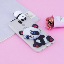 For Coque Huawei Mate 10 Lite Case 3D Cartoon Cat Panda Soft Silicon Back Cover Mate10 / Maimang 6