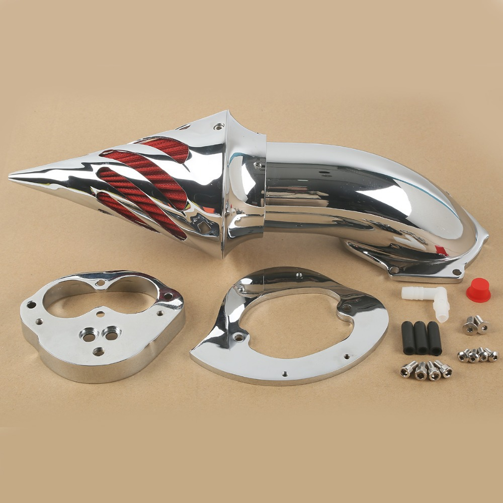 цены New Chrome Air Cleaner Intake Filter For Kawasaki Classic Vulcan VN1500 VN 1500