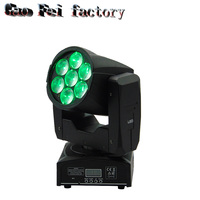 2017 NEWEST 4 in 1 7x12w led mini beam wash moving head zoom light
