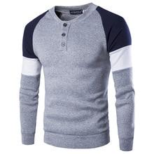 2018 Autumn Winter Fashion Men's Hoodies Hedging Stitching Big Yards Men British Temperament Sweatshirts Men Plus Size M-3XL