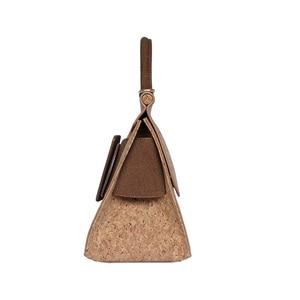 Image 5 - KAOGE Vegan Luxus Natürliche kork tasche Frauen Handgemachte Schulter Taschen Antifouling Handtasche Designer Taschen Damen Hand Tasche