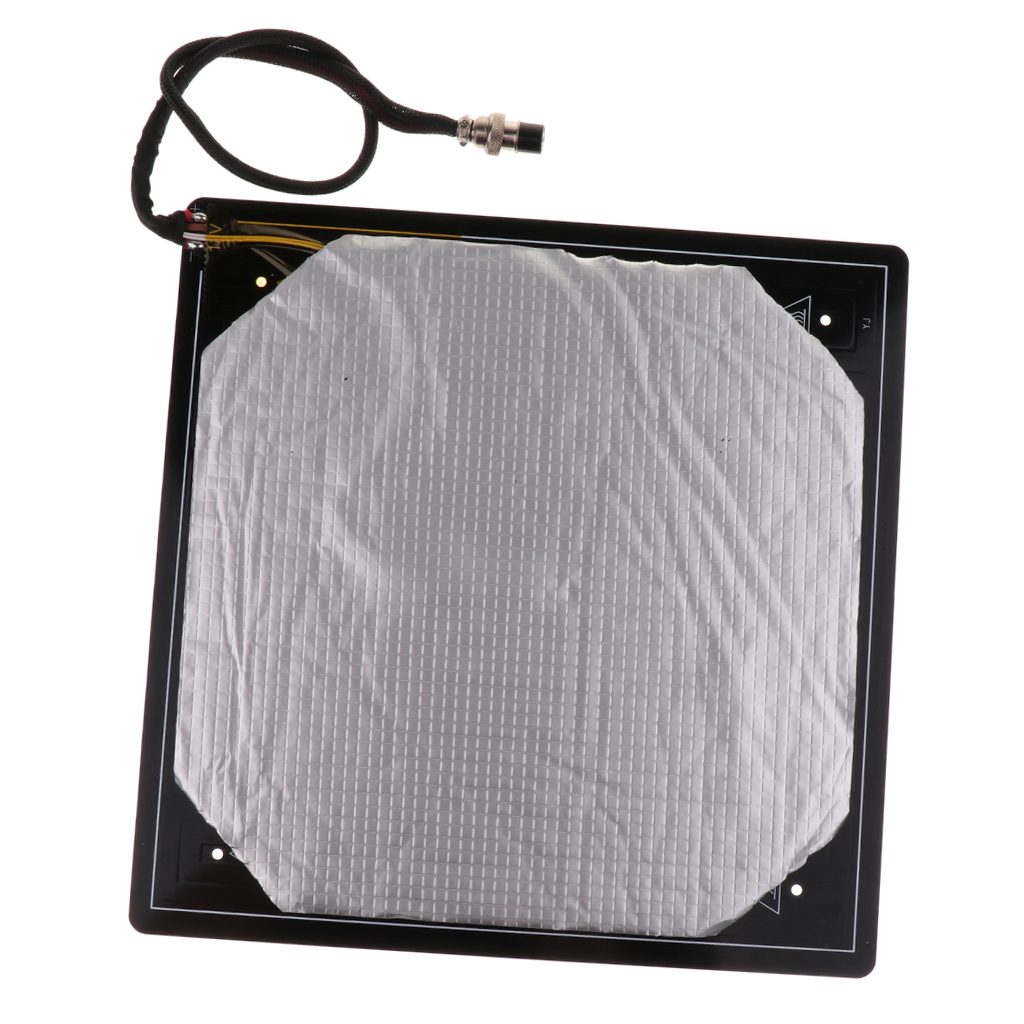 Cama de calor calorosa de alumínio do pwb do heatbed da cama 300*300*3mm mk3 aquecida para a cama de calor da cama quente da impressora cr10 3d da creality